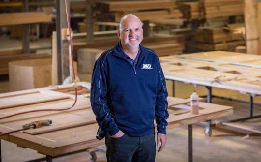 Carriage door maker gains insight with rapid ERP implementation